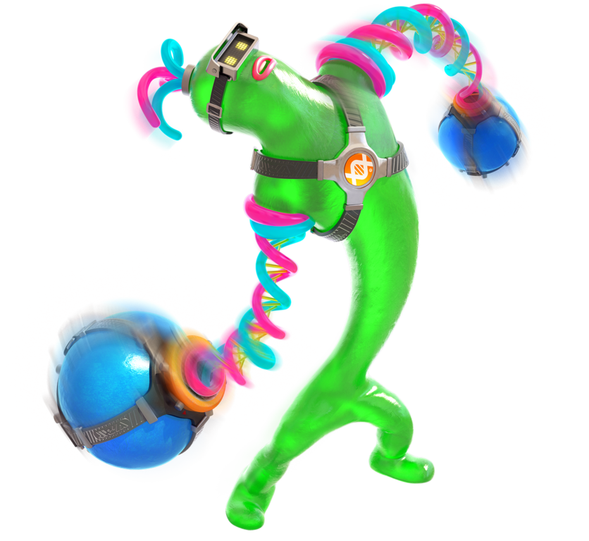 Arms helix png. Image nintendo fandom powered