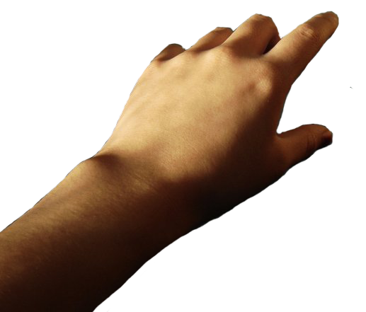 Hand reaching out png. Transparency by kaliphalinden on