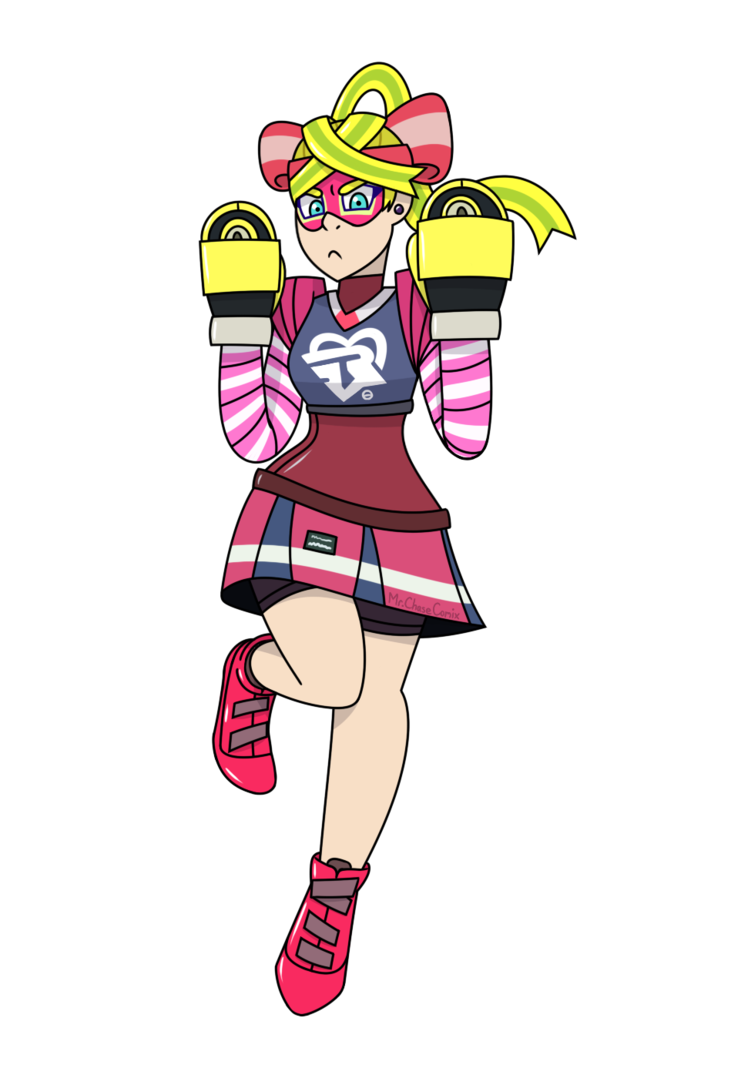 Arms ribbon girl png. By mrchasecomix on deviantart