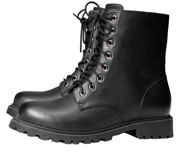 Combat boots png. Custom art design buy