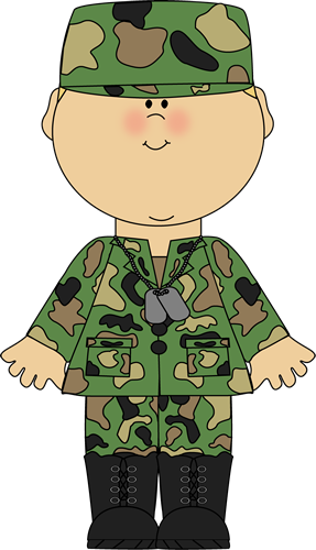 Army clipart soldier. Free cliparts download clip