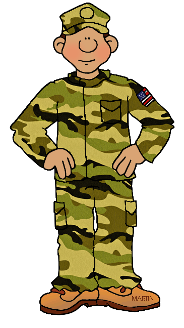 Army clipart. Clip art black and