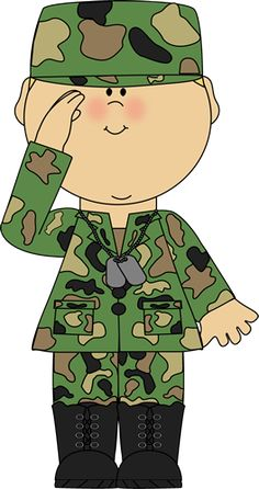 Soldier clipart brave soldier. Free page armed forces