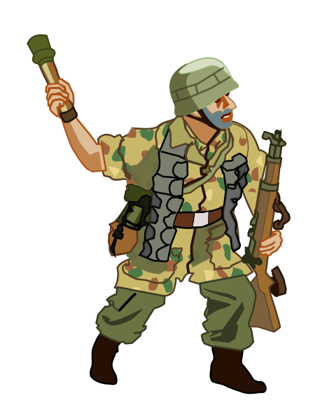 Army clipart army person. Free soldier cliparts download