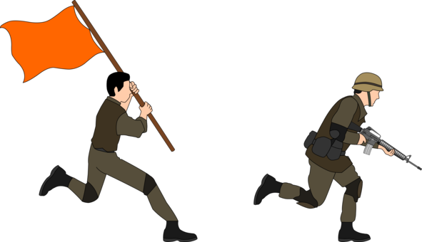 Band clipart soldier march. Military army paratrooper drawing