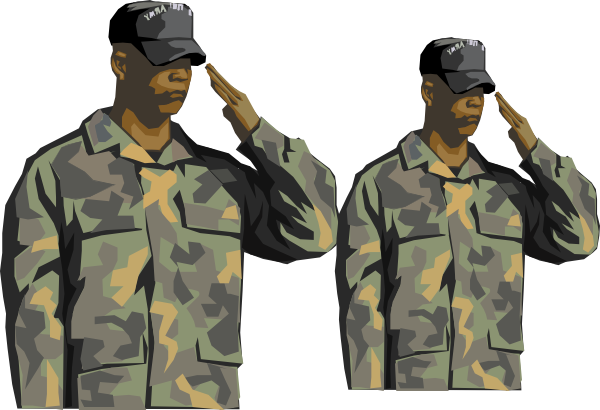 Military clipart military leader. Clip art at clker