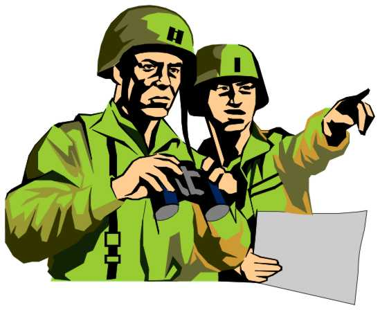 Army soldiers . Wars clipart svg library