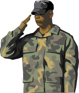 Army clipart army person. Veteran clip art at