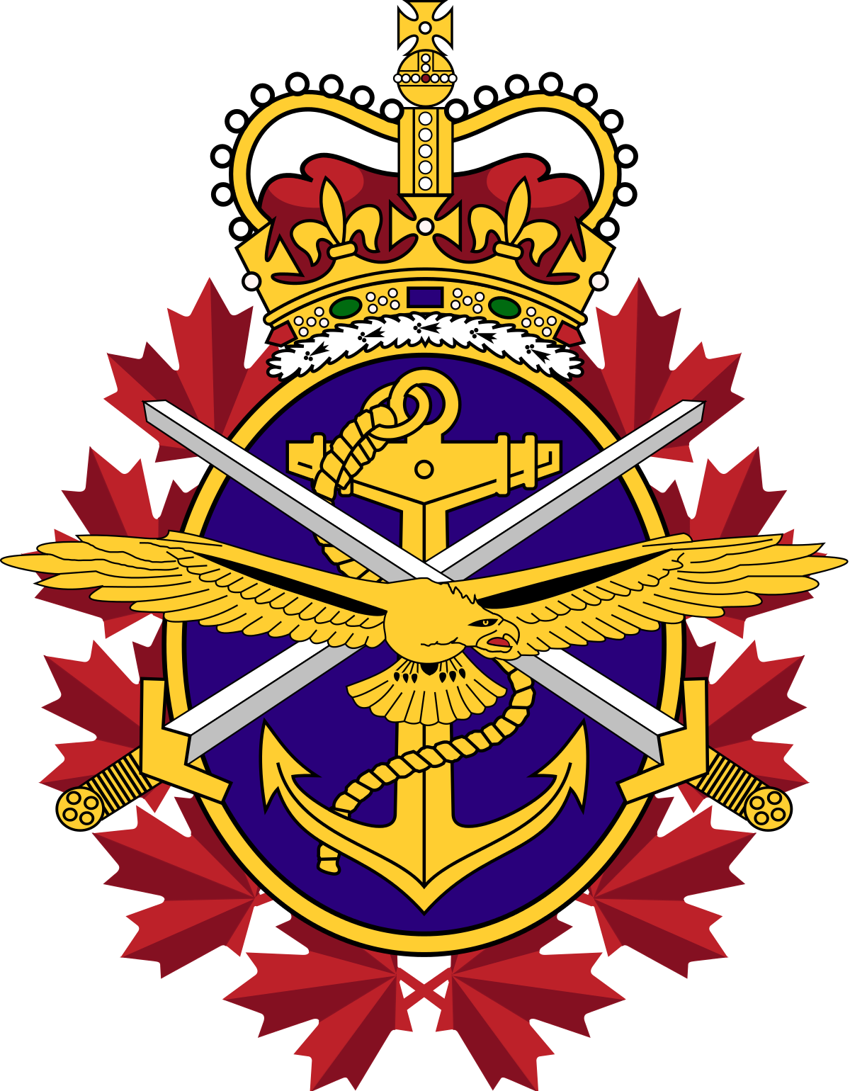 Canadian armed forces wikipedia. Army crest png vector free stock
