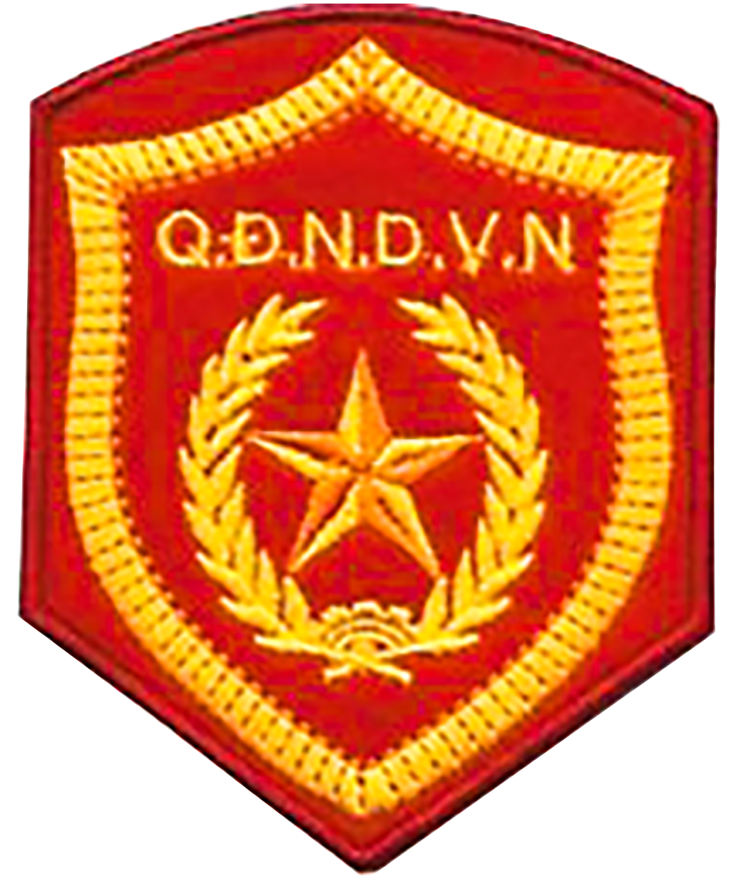 File vietnam people s. Army crest png picture black and white