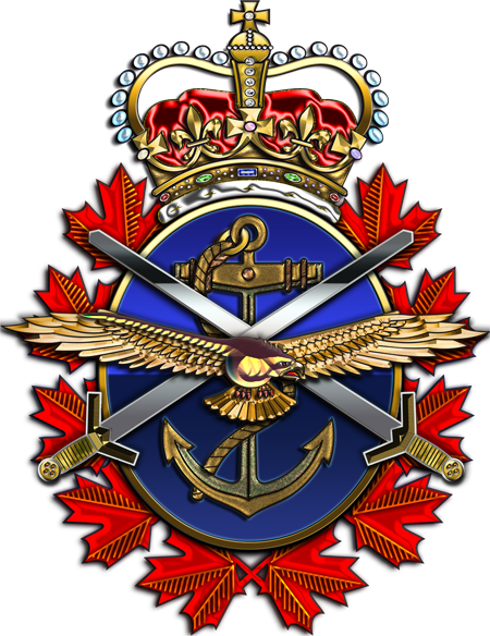 Canadian forces badge x. Army crest png svg royalty free download