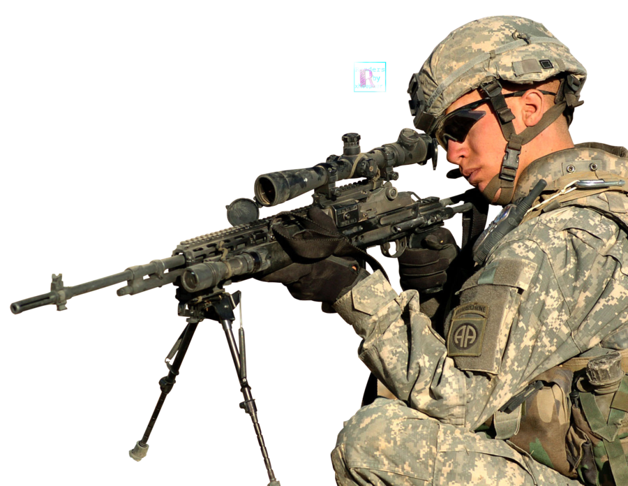 Army guy png. Render high resolution by
