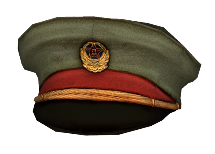 Soldier hat png. Image chinese general fallout