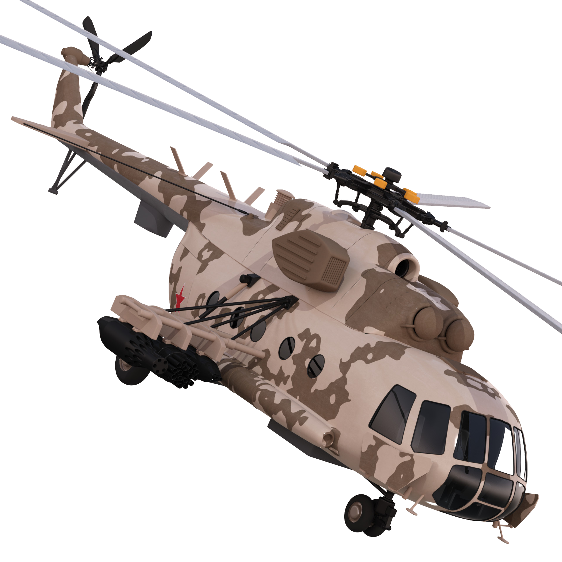 Crashing helicopter png