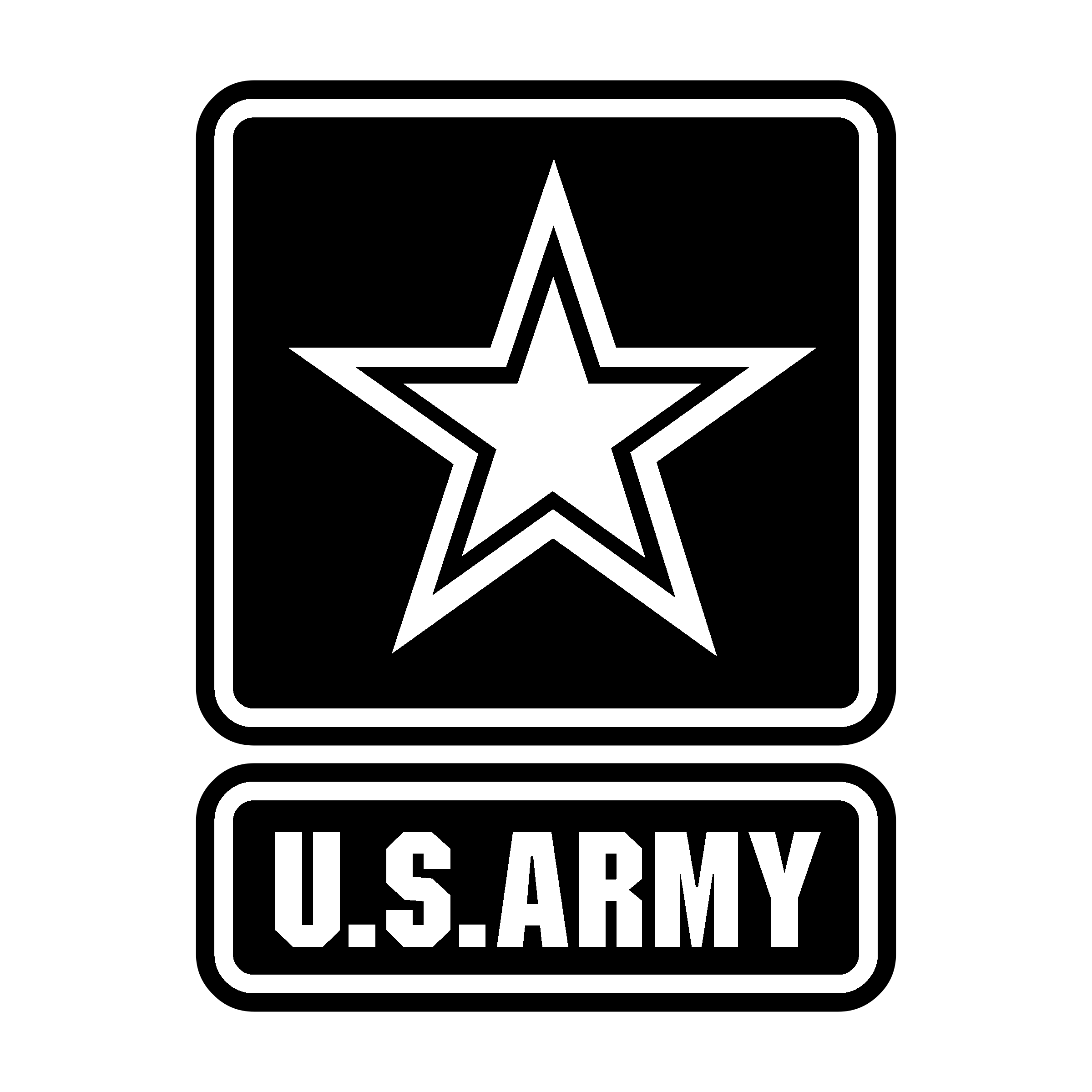 Us transparent svg vector. Army logo png png