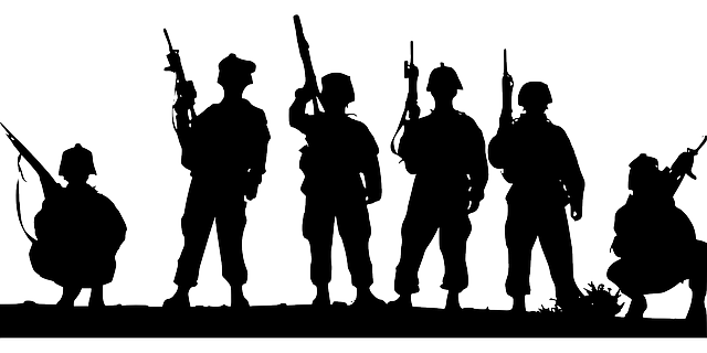 soldier svg attention silhouette