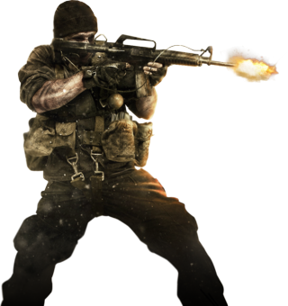 Transparent soldier cod. Call of duty png
