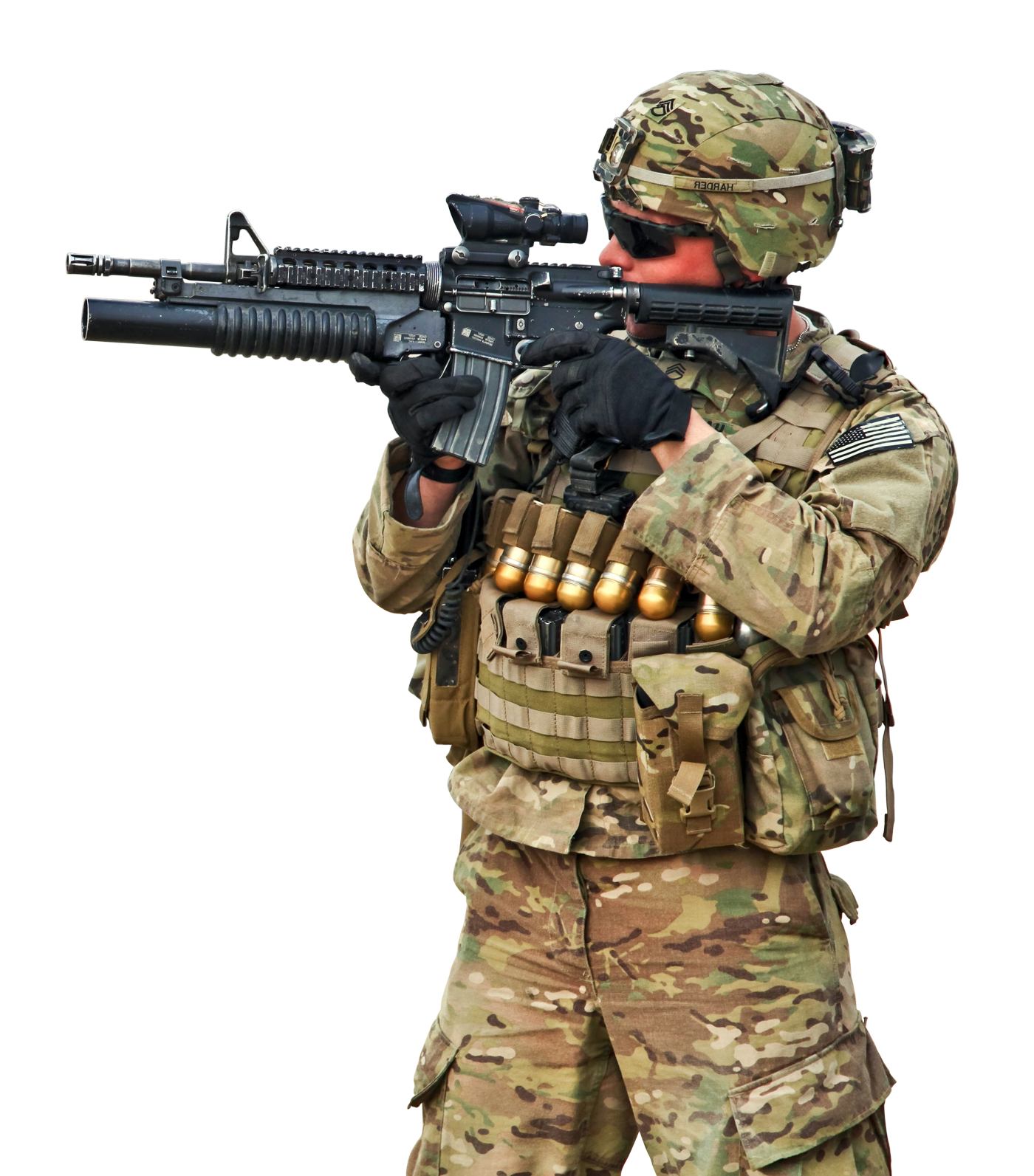 Army png. Military man transparent image
