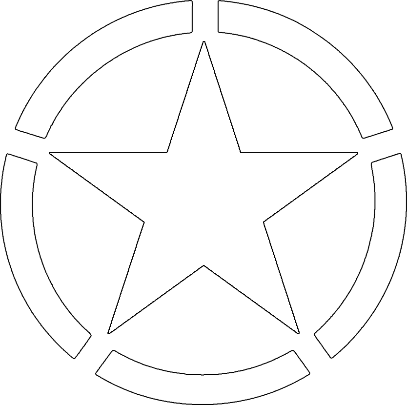 Army star png. Image fo us rwby