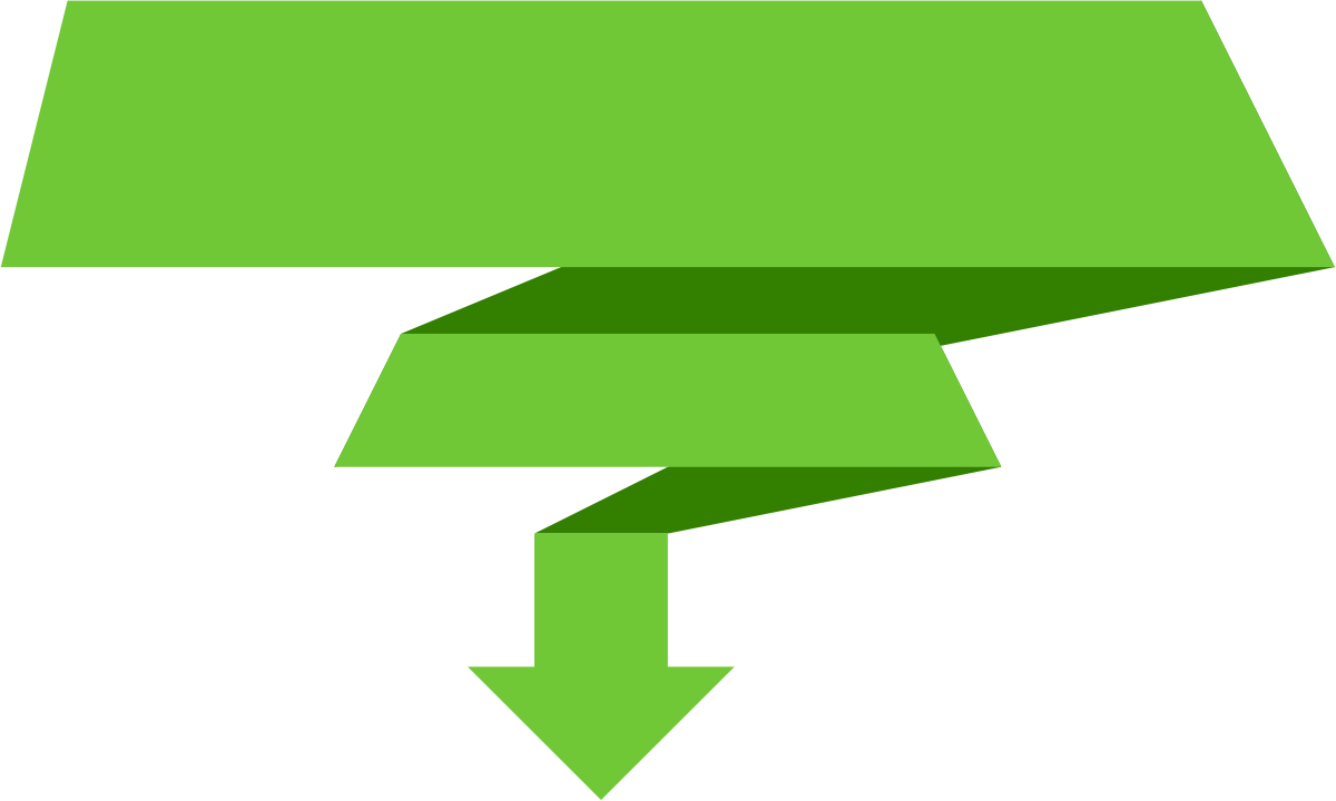 Arrow banner png. Down transparent free icons