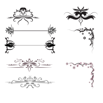 Arrow border png. Flowers images vectors and