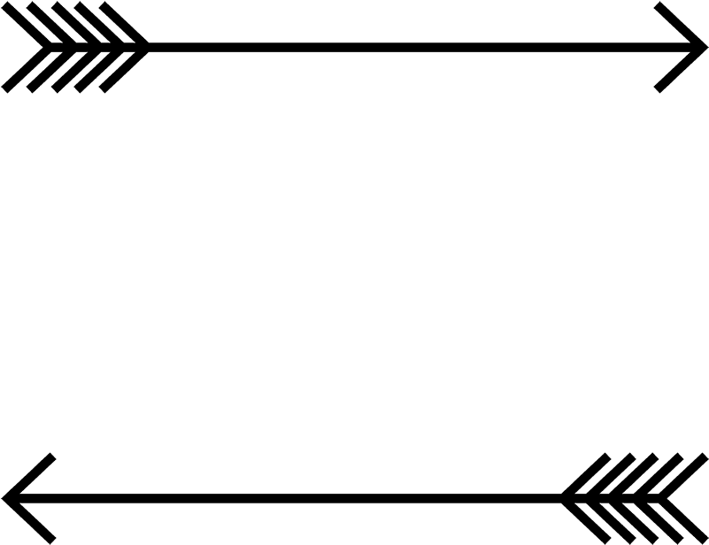 Arrow border png. Download rubber stamp follow