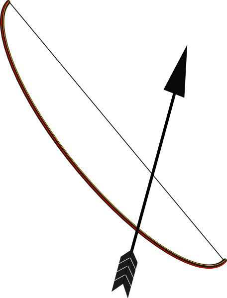 Arrow bow png. And transparent pictures free
