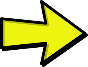 Arrow clipart yellow.