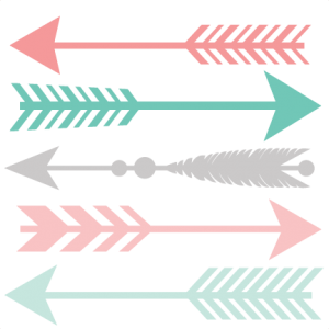 boho svg arrow clipart