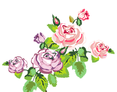 Roses clipart shabby chic. Flowers clip art library