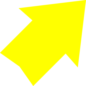 Arrow clipart yellow. Right up clip art