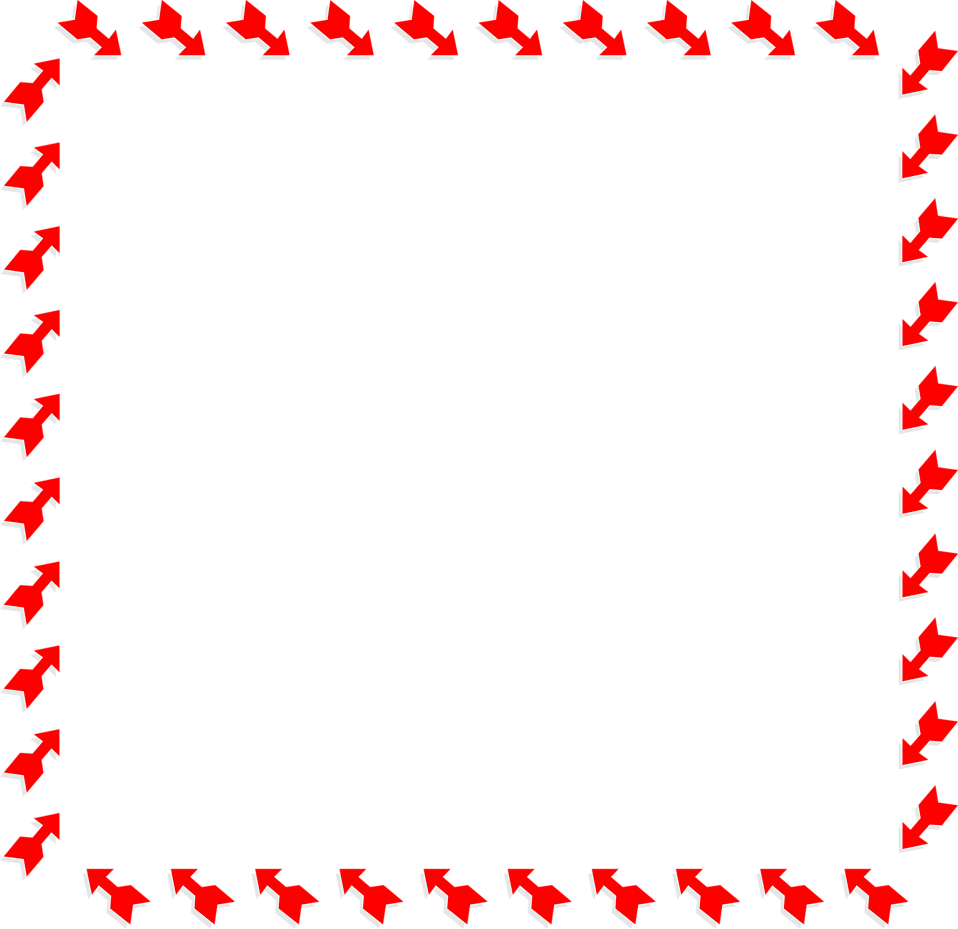 Arrow border png. Arrows red free stock