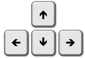 Up down left right keys png. Steam community guide arrow