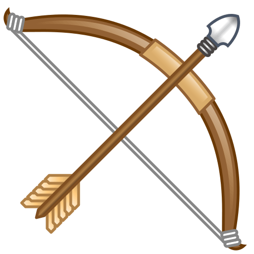 Arrow png bow. And emoji for facebook