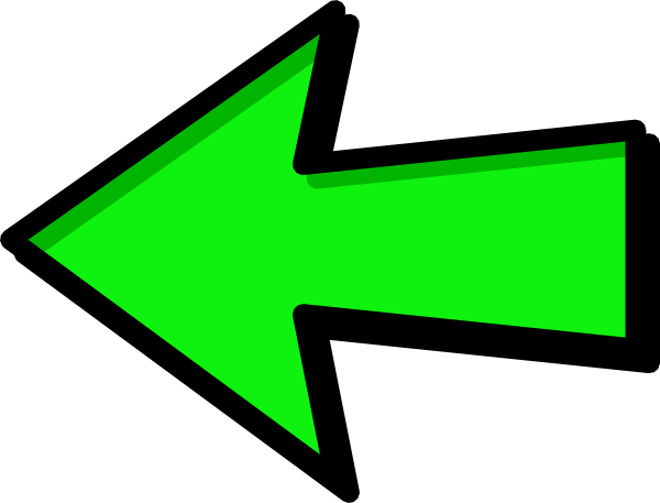 Arrow png green. Left free icons and