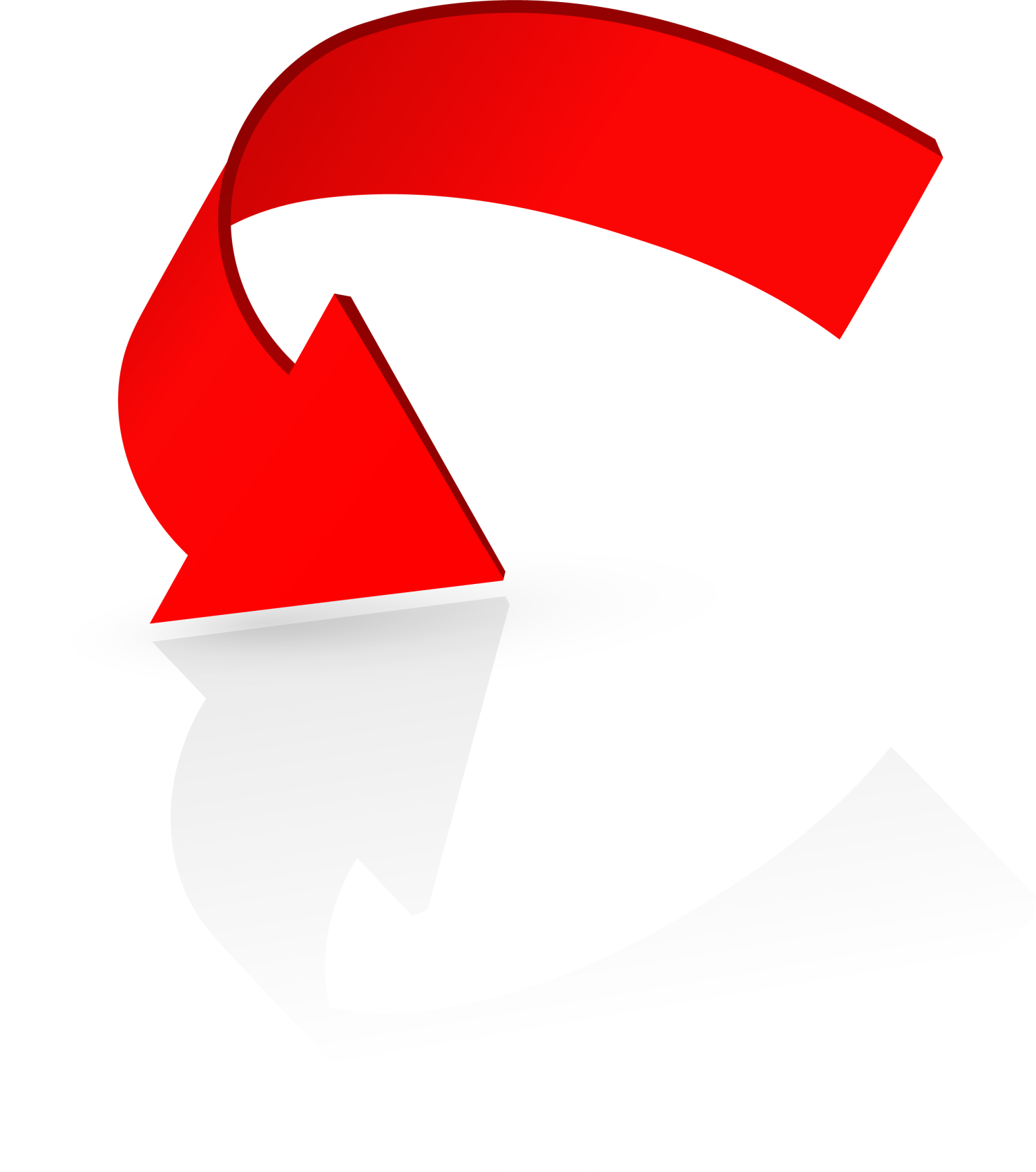 Arrow png red. Logo concise transprent free