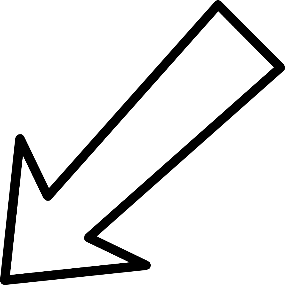 diagonal arrow png