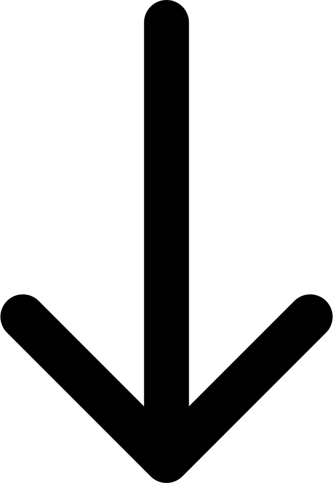 Arrows pointing down png. Arrow to svg icon
