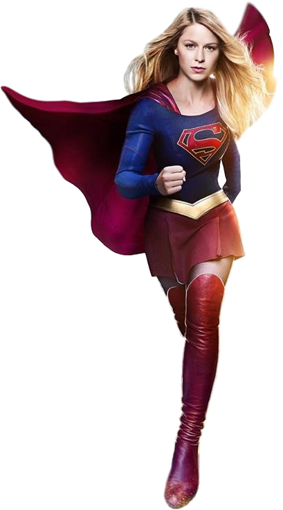 Supergirl transparent anime. X flash background by