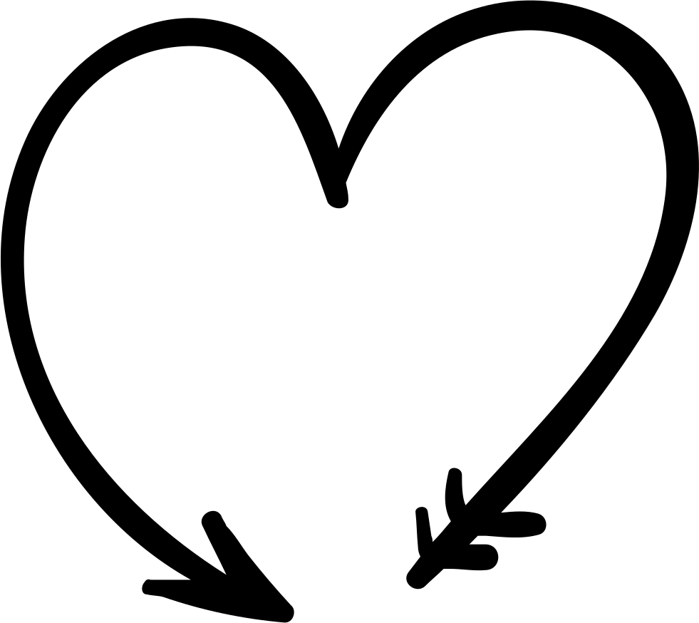 Forming a svg icon. Heart and arrow png png transparent