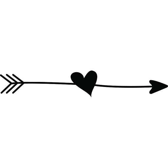 Arrows clipart cute. Arrow black and white