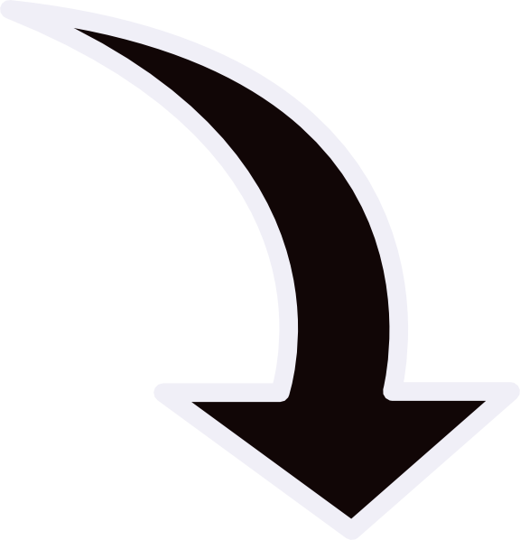 Path clipart two arrow. Clip art at clker