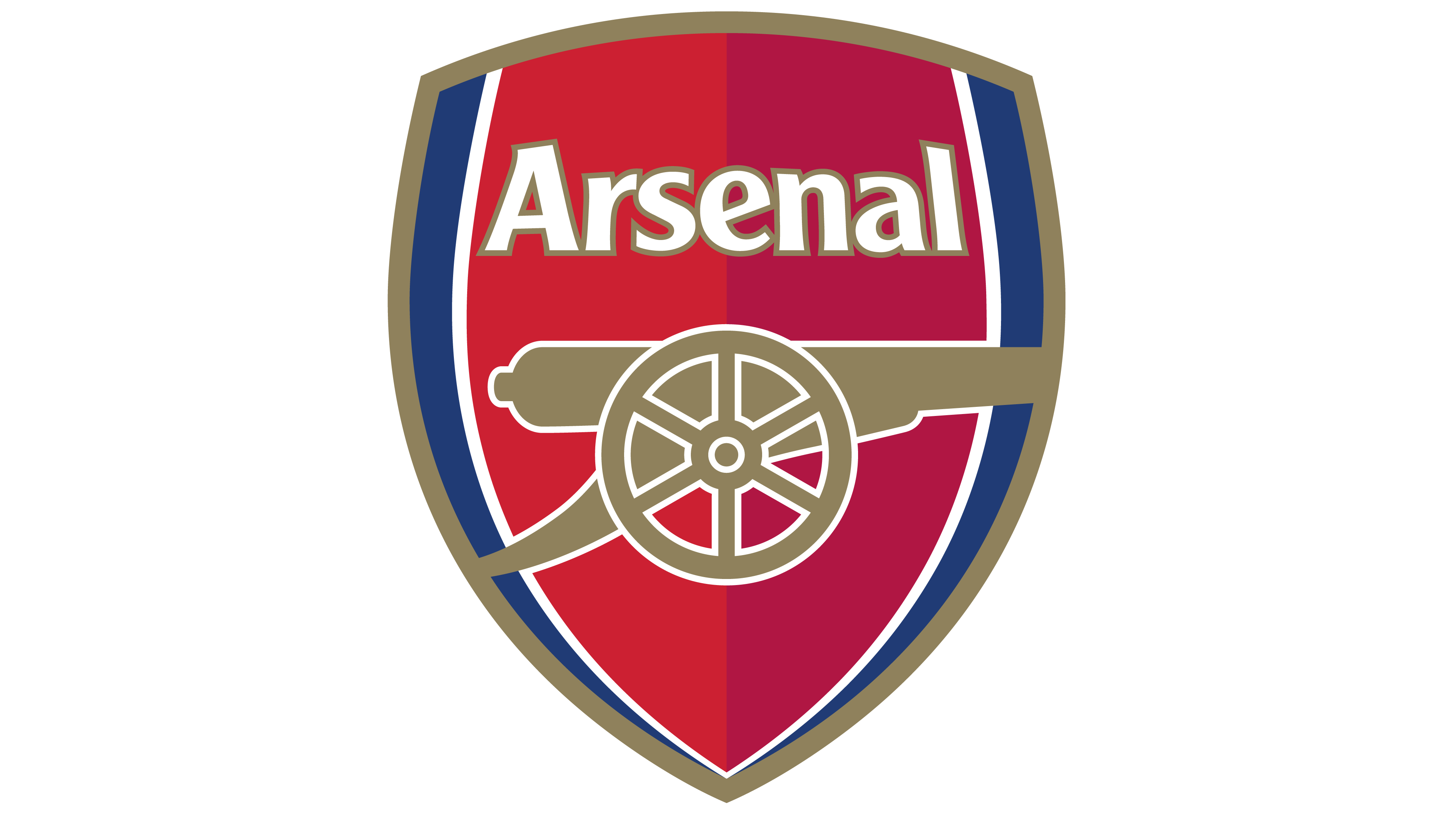 Club vector modern. Arsenal logo interesting history