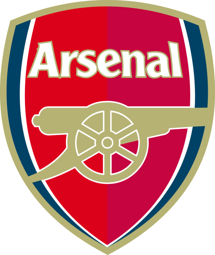 Arsenal crest png. Football club logo by