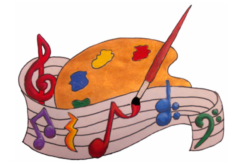 Art clipart art contest. Music and make a