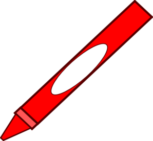 Art clipart crayon. Red at getdrawings com