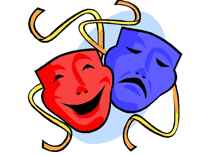 Art clipart drama. Free masks download clip