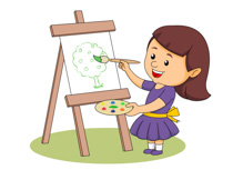 Painting clipart painting supply. Incredible design paint palette