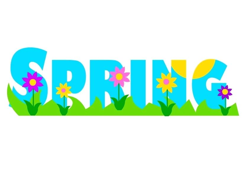 Art clipart spring. March clip digital watercolor