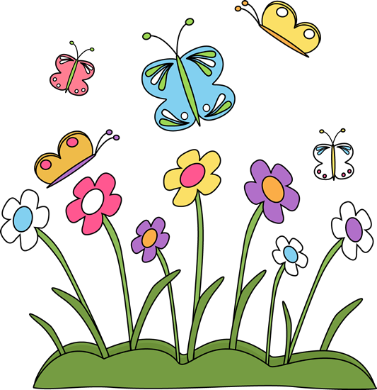 Images flowers and butterflies. Butterfly clip art spring svg free stock
